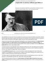 La Ciencia Confirma Que Hitler Se Suicidó en Berlín 1945 y No Huyó a Ninguna Parte_ ELESPECTADOR.com