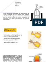 Fabricación de Acero