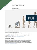La Teoría Sintética de La Evolución