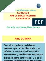 Cap II Aire Mina y Agentes Ambient. Ventil. Min.2017