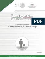 Protocolo Trata en Centros de Trabajo