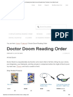 Doctor Doom Reading Order _ Best Comics & Graphic Novel Timeline _ Comic Book Herald