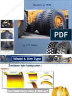 Wheel Rim Component HD 785-7 & 465-7