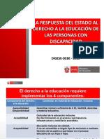 Derecho a La Educacion Pcd