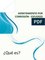 Agrietamiento Por Corrosión - Esfuerzo