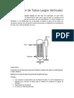 Evaporador de Tubos Largos de Circulación Forzada