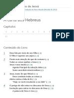 O Livro de Hebreus _ Sumário _ Bíblia on-line _ TNM