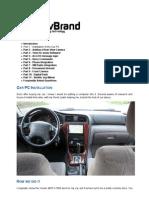 Car PC - Installation 1