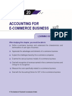 Accounting for E-commerce