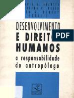 Desenvolvimento e Direitos Humanos a Responsabilidade Do Antropólogo