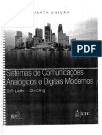 1. Sistemas de Comunicações Analógicos e Digitais Modernos - Lathi