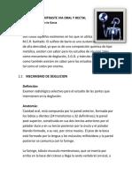 Examenes de Contraste via Oral y Rectal