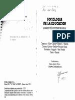 01 - Volpe - Sociologia de La Educacion Corrientes Cont (23 Copias)