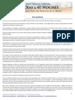 Dia Uno PDF Eres Perfecto