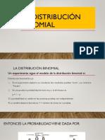 La Distribución Binomial