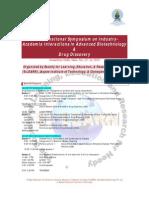 International Symposium Schedule