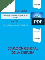 Sesion 6.2 Ecuacion General de La Energia - Evaluación