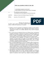 modelo de absolucion cargos ODECMA