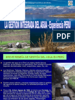Gestion Integrada Del Agua - Experiencia Peru