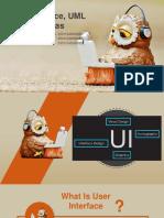 GUI, UML, Usabilitas