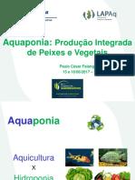 Aquaponia Produção Integrada de Peixes e Vegetais