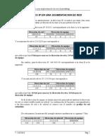 Las Direcciones IP en Una Segmentacion de Red - Subnetting