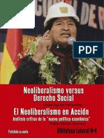 Neoliberalismo Versus Social Aguilar