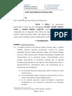Caso Ollanta Humala - Nadine Heredia - Aceptan recusación contra jueces de Segunda Sala Penal de Apelaciones Nacional