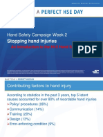 Hand Safety Communication Month Preventing Hand Injury With Hi-5 Week 2
