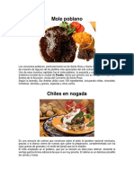 Comida Tipica de Puebla