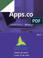 Apps.co emprendimiento cierre