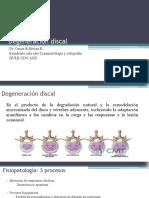 Degeneración discal