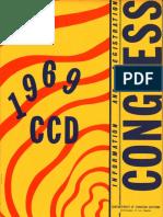 CCD Congress 1969 Registration Book