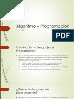 Algoritmo y Programación (1)