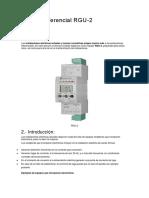 Informe diferencial RGU