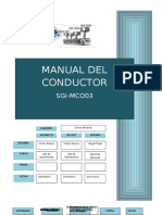 SGI - MCO03 Manual Del Conductor