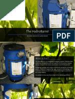 HydroBarrel Portfolio
