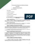 Ley-29719 Plan de sana convivencia y disciplina escolar.pdf