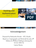 6 - Hashing and Authentication.ppt