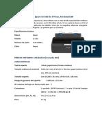 Impresora Matricial Epson LX