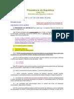 Leis de Direito Administrativo