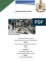 Comercio Informal en Tepic