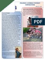 Newsletter 05 17 18