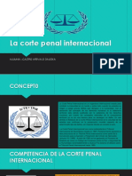La Corte Penal Internacional Diaposss