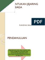 Pembentukan Jejaring Desa Siaga Nelle