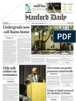 The Stanford Daily, Sept. 23, 2010