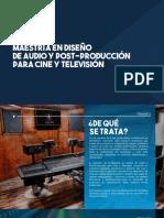 Diseño-de-Audio-y-Post-Producción