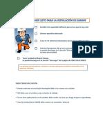 Manual de Instalación Samm
