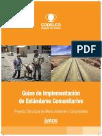 Guia de Implementacion en Estandares Comunitarios Codelco