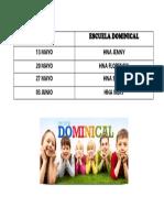 Escuela Dominical (Autoguardado)